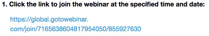 example of a webinar link