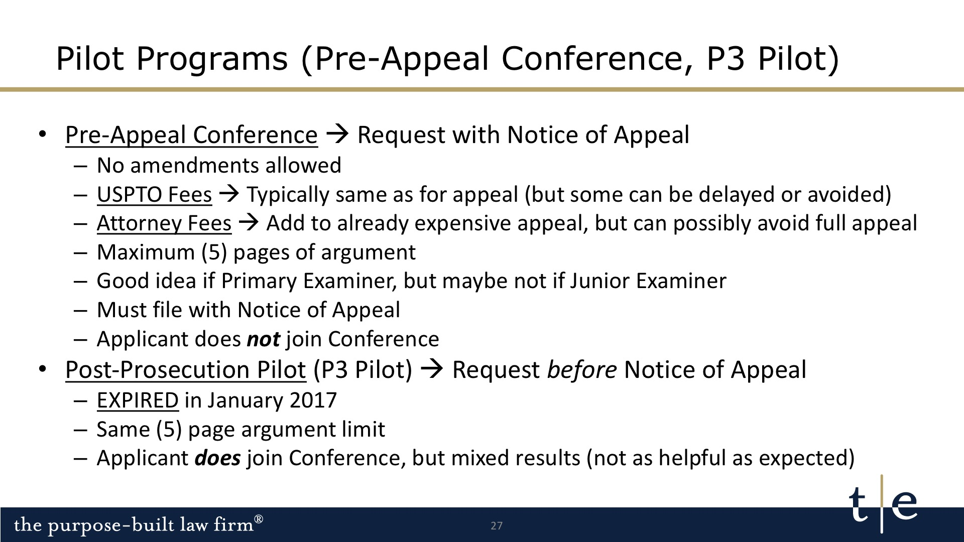 Pre-Appeal Conference