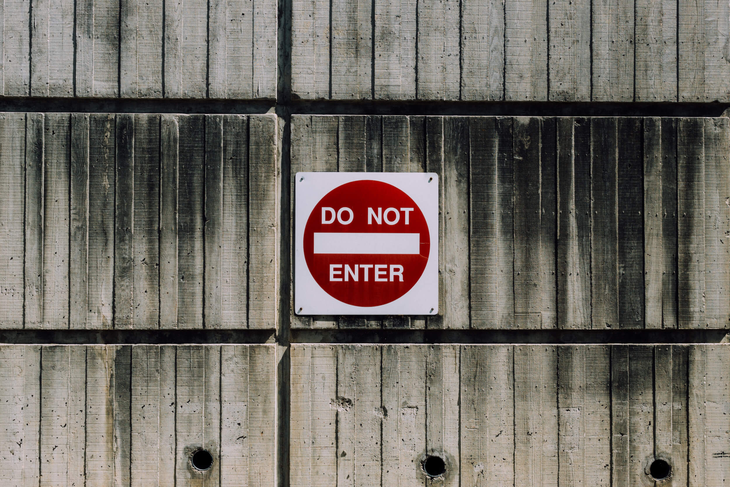 Do-not-enter-sign
