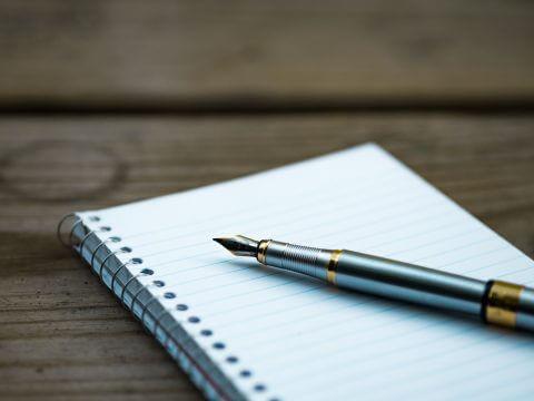 draft pen paper